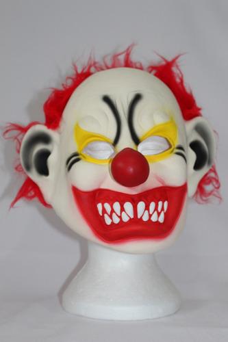 máscara palhaço assassino halloween terror fantasia látex