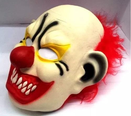 máscara palhaço assustador hallowen látex cosplay terror