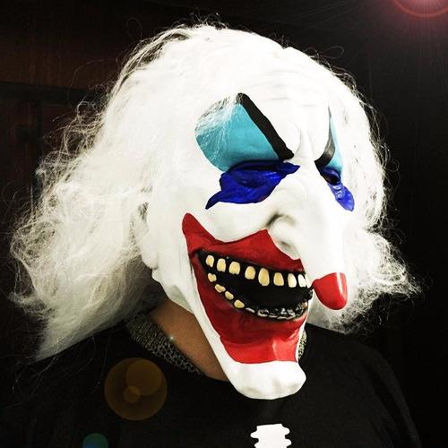 máscara palhaço macabro assassino terror carnaval cosplay