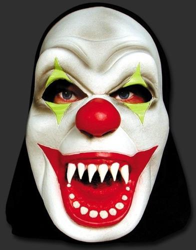 máscara palhaço mal - terror hallowen