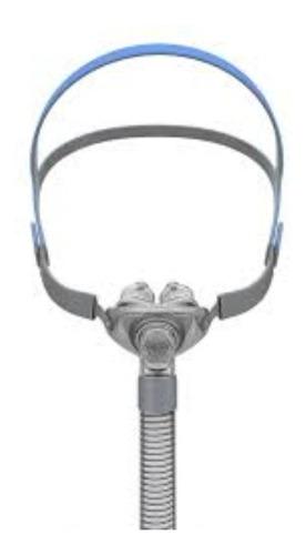 máscara para cpap nasal com 3 tamanhos de almofadas p/ m / g