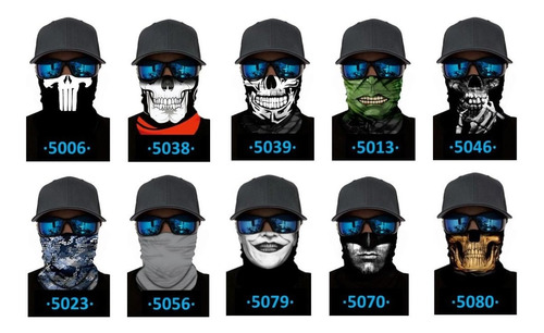 mascara para moto