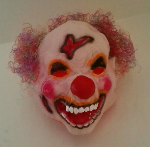mascara payaso del mal latex caucho asesino diabolico