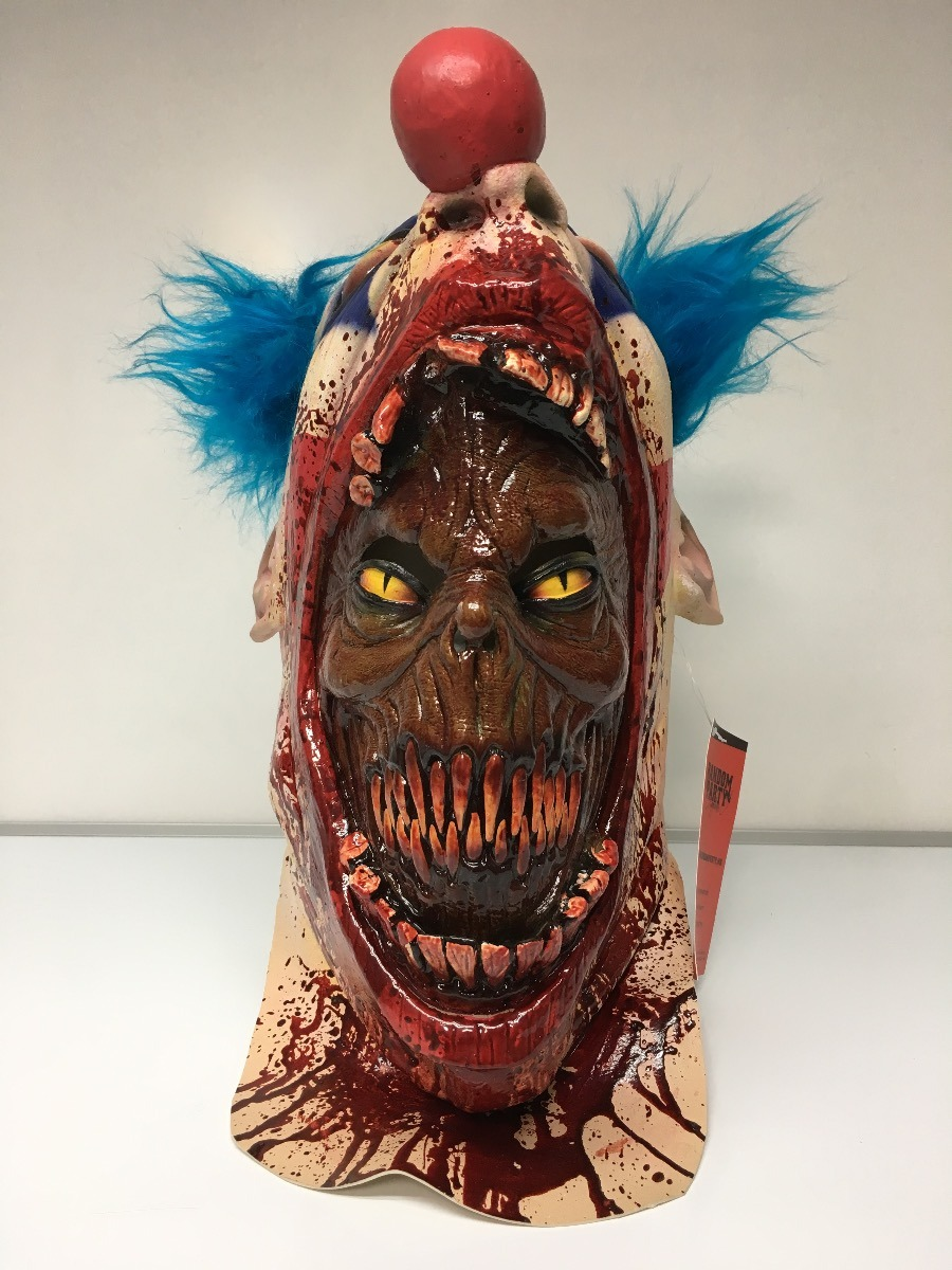 Mascara payaso zombie asesino sangre terror halloween - Mascaras de terror ...