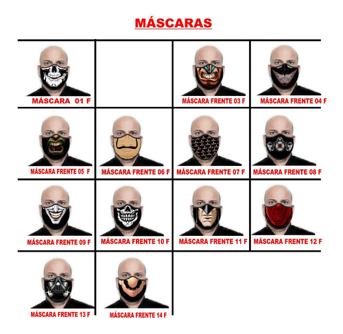 máscara personalizada preta venom proteção - ref ( 04 )