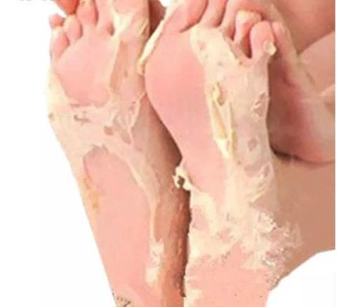 máscara pés peeling remoção da pele morta efero 3 pares 6 un