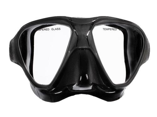 máscara pesca sub profissional mergulho silicone cetus opah