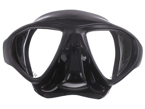 máscara pesca sub profissional mergulho silicone cetus spy