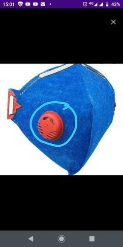máscara pff1s muito resistente e duráveis