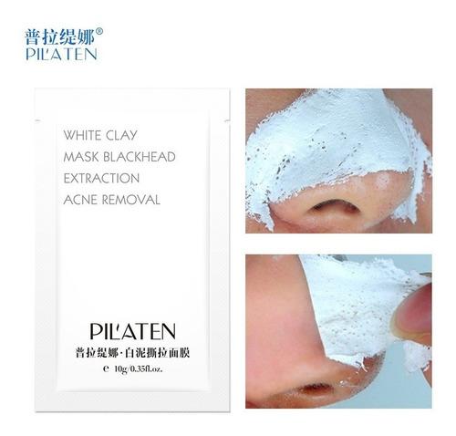 mascara pilaten blanca acne granos x1 sobre 10gr original