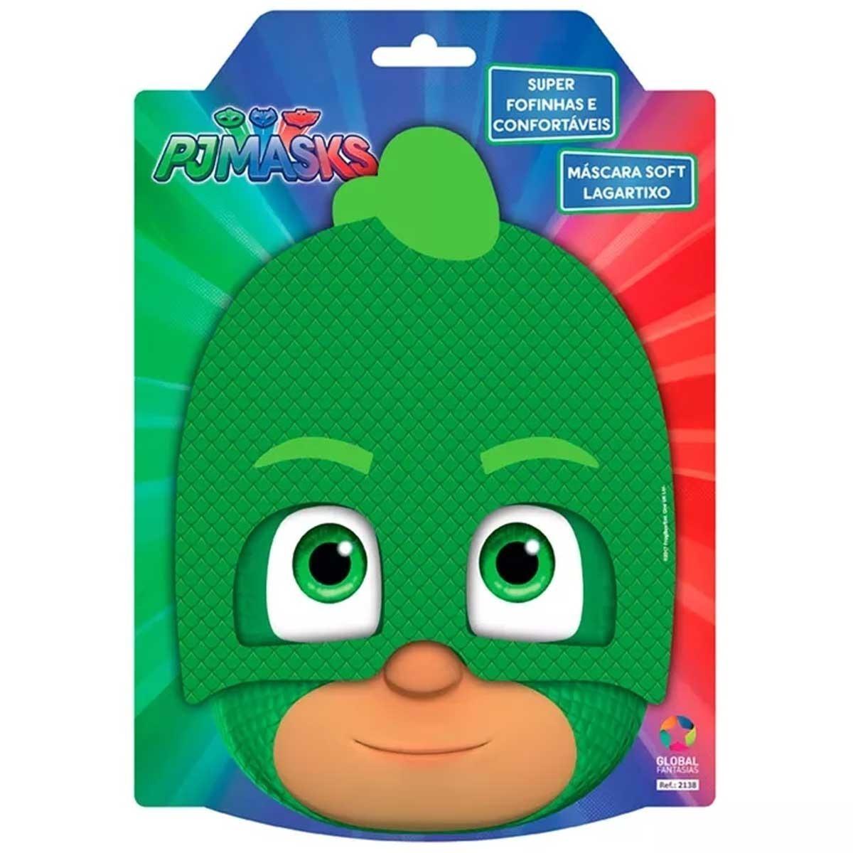 Mascara Pj Masks Lagartixo Soft Global Original R 24 99 Em