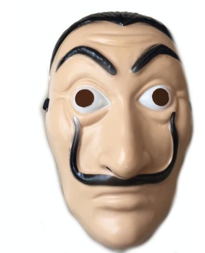 máscara plástico la casa de papel plástico pvc economic dalí
