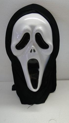 máscara pânico com capuz - festa halloween