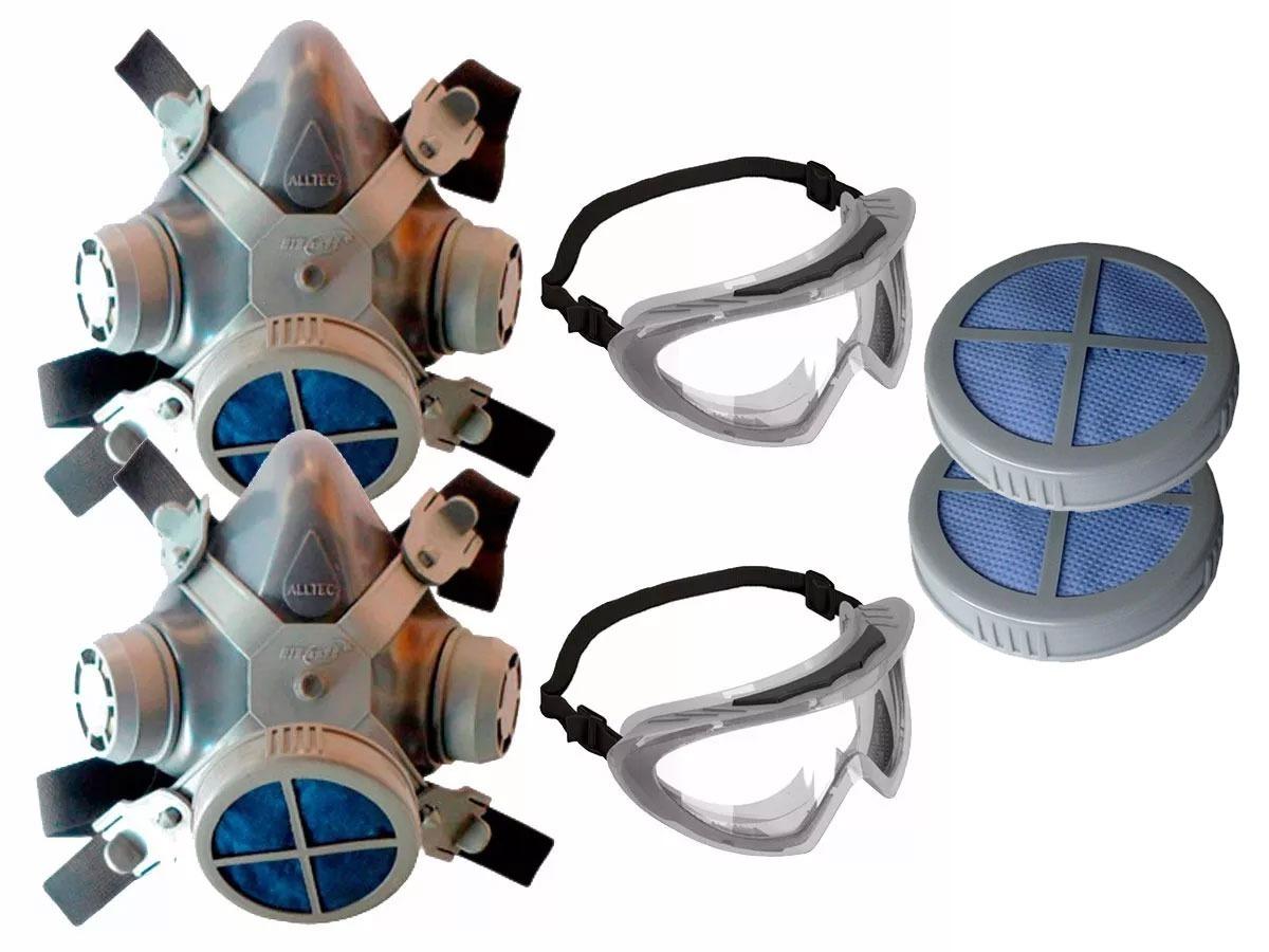 440f01a6ff1dc máscara pó poeira mastt+ óculos segurança+ filtro (2 unid.) Carregando zoom.