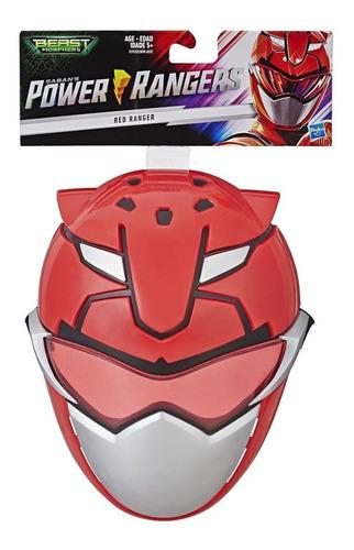 mascara power rangers  red ranger ( ranger vermelho ) hasbro