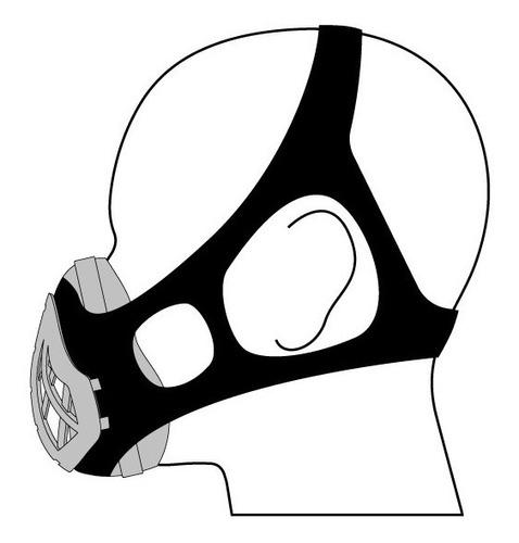 máscara proteção para atividade física esporte academia n95