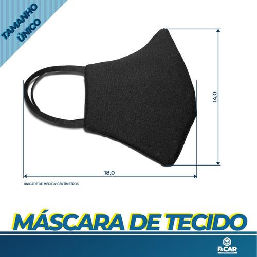 mascara proteção reutilizável tecido lavável dupla camada