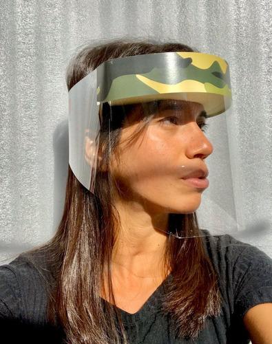 mascara protector facial barrera sanitaria x 10 unidades