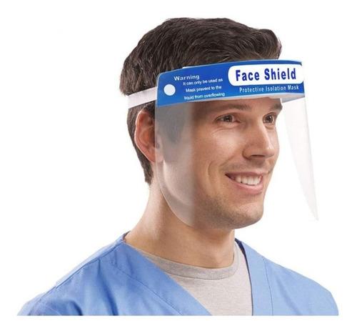mascara protector facial escudo trasparente - otec