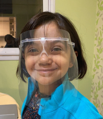 mascara protector facial ks maxima visibilidad x100 unidades