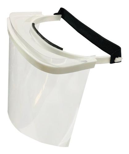 mascara protector facial sanitaria reutilizable plastica