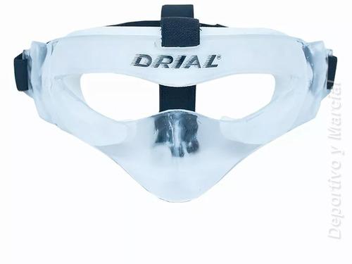mascara protectora antifaz pomulos nariz cara deportes drial