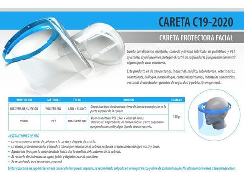 máscara protectora  cov-19 somos fabricantes