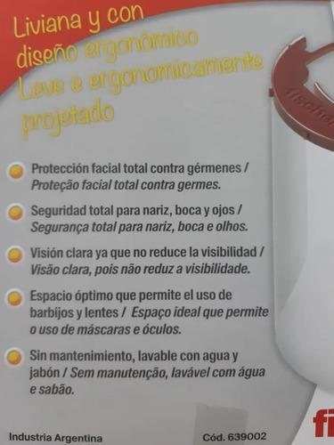 mascara protectora facial fischer