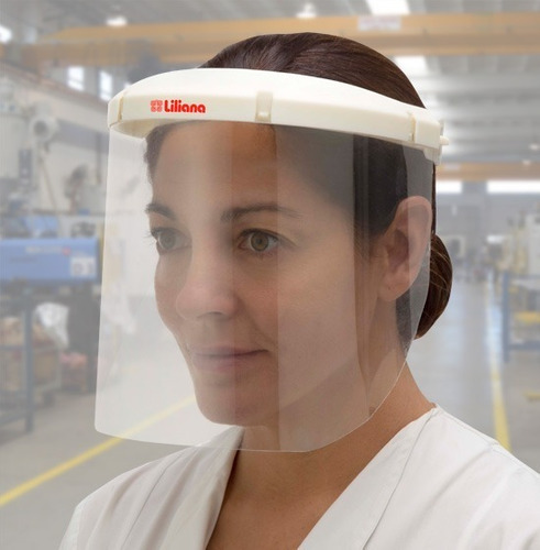 máscara protectora facial liliana  mf 250 profesional