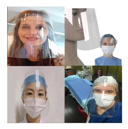 mascara protectora facial tapa boca nariz ojos reutilizable