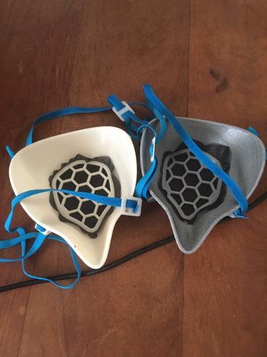 mascara protectora  liviana fácil de higienizar