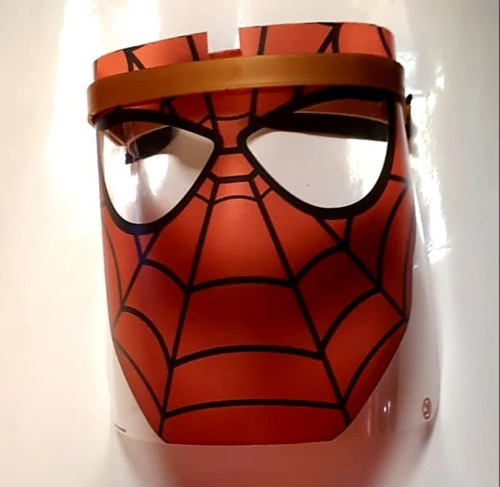 mascara protectora vincha niños proteccion infantil diseños