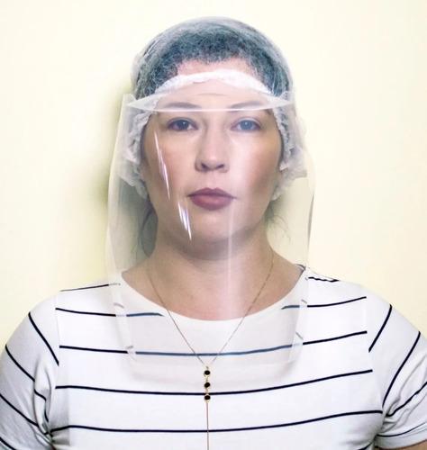 mascara protetora facial total face shield dello