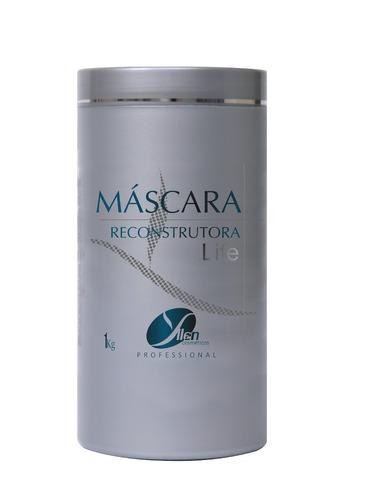 máscara reconstrutora yllen cosméticos profissional cabelos