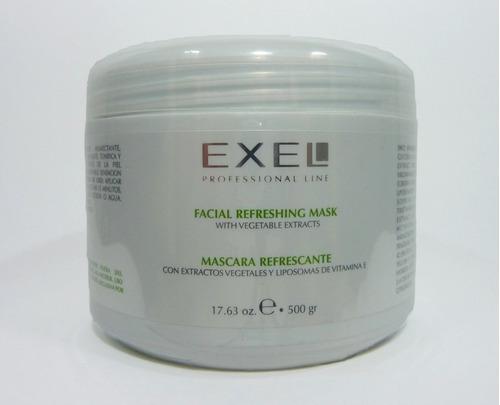mascara refrescante ext vegetales 240gr exel