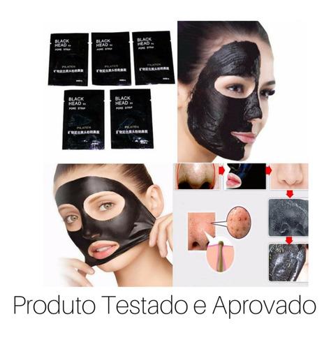 máscara removedora cravos black head pore strip
