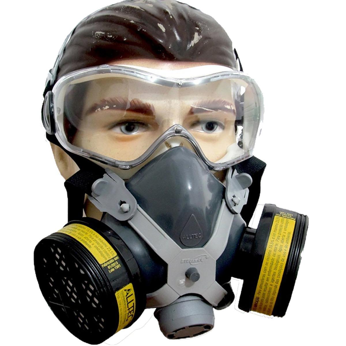 mascara respirador facial gases ácido formol veneno pintura. Carregando  zoom. 54bb843f95