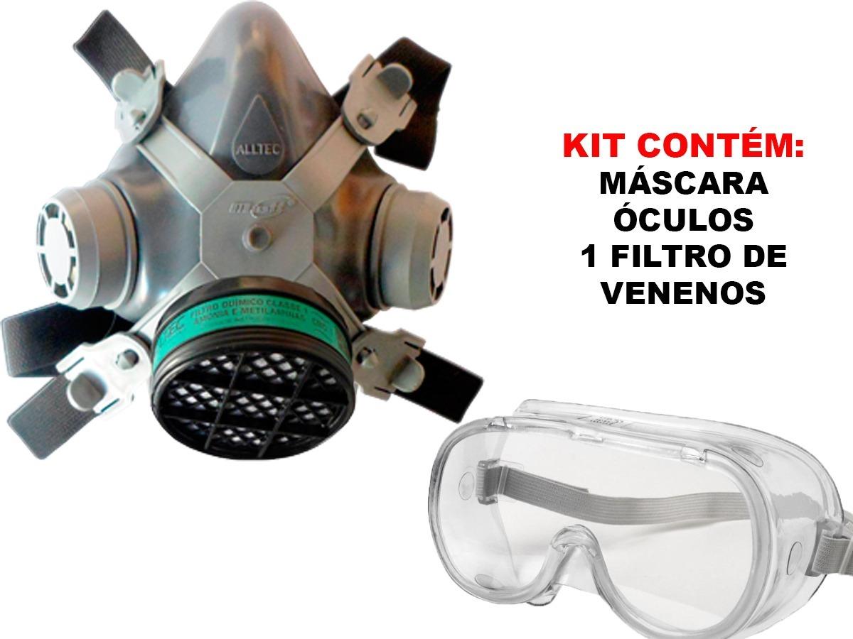 mascara respirador facial pintura gases formol veneno óculos. Carregando  zoom. 1c86ddf7b0