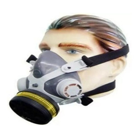 Mascara Respirador Facial Pintura Gases Vapores Organicos