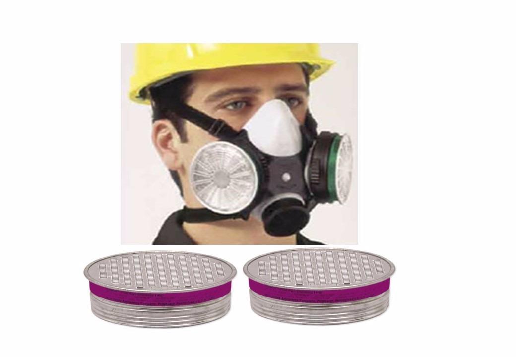 mascara respiratoria + 2 pares de filtros pff3 msa epi ca. Carregando zoom. bdbc4b9a7d