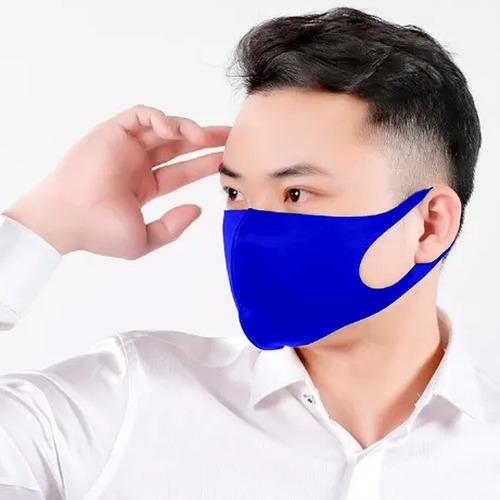 mascara reutilizável em neo prene lavável de dupla camada