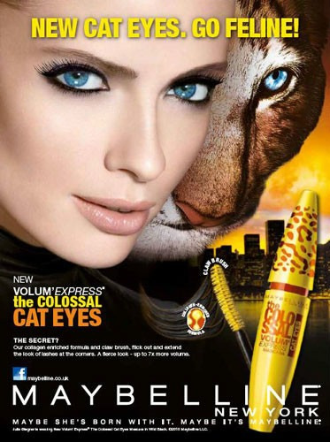máscara rímel maybelline volume colossal cat eyes