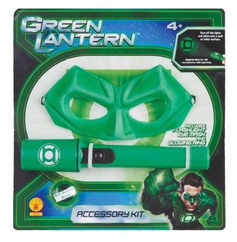 mascara rubie's green lantern accessory kit flashl