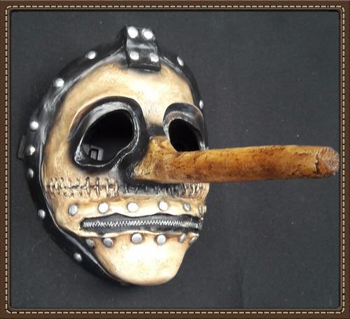 mascara slipknot (chris) mascara halloween, disfraz