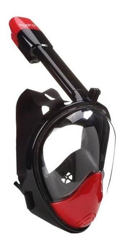 máscara snorkel hydro full face snorkel mask senior natación