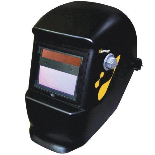 mascara solda automática mig tig  lente regulagem titanium