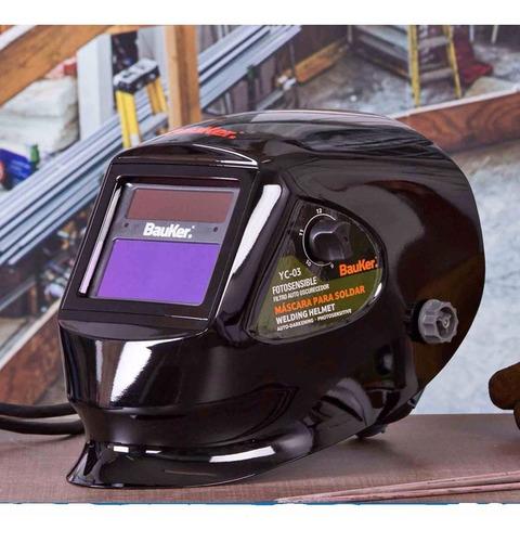 máscara soldar de lujo fotosensible 92x42 mm importada
