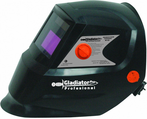 máscara soldar fotosensible gladiator pro - ms801