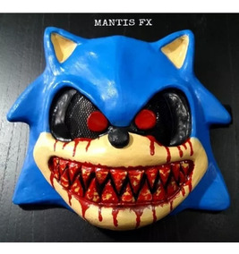 Mascara Sonic exe Con Sangre