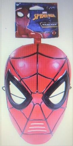 máscara spider man homem aranha vs sexteto sinistro